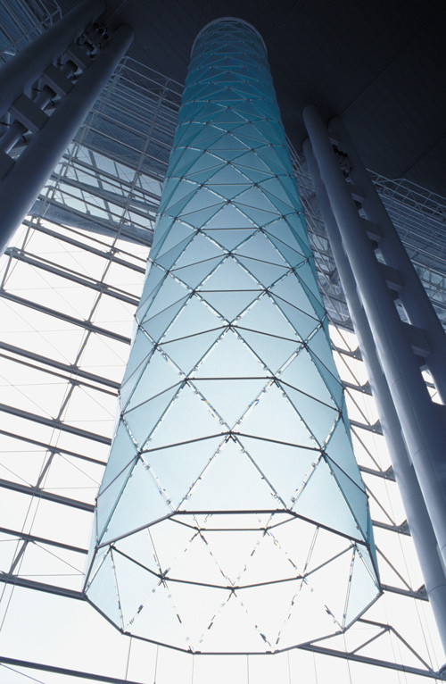Suspended Glass Tower